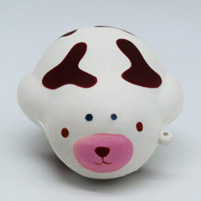 Cute Cartoon Lazy Cow Soft PU Foam Jumbo Squishy Toy