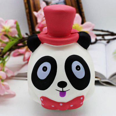 Buy COLORMIX Realistic Panda Magician PU Foam Squishy Toy for $6.52 in GearBest store
