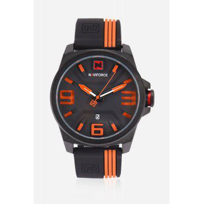 Fashion Date Display Japan Movt Watch for MenMens Watches<br>Fashion Date Display Japan Movt Watch for Men<br><br>Band material: Leather<br>Band size: 27 x 2cm<br>Case material: Stainless Steel<br>Clasp type: Pin buckle<br>Dial size: 4.9 x 4.9 x 1.4cm<br>Display type: Analog<br>Movement type: Quartz watch<br>Package Contents: 1 x Watch<br>Package size (L x W x H): 10.00 x 7.00 x 4.00 cm / 3.94 x 2.76 x 1.57 inches<br>Package weight: 0.1800 kg<br>Product size (L x W x H): 27.00 x 4.90 x 1.40 cm / 10.63 x 1.93 x 0.55 inches<br>Product weight: 0.1000 kg<br>Shape of the dial: Round<br>Watch style: Fashion<br>Watches categories: Men<br>Water resistance : 30 meters<br>Wearable length: 21.5 - 25.5cm
