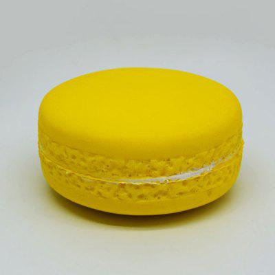 Buy YELLOW 10cm Realistic Macaron PU Foam Squishy Toy for $5.28 in GearBest store