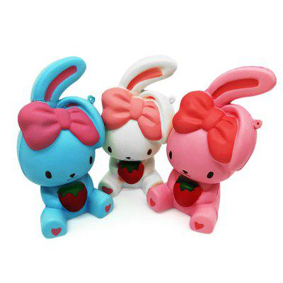 Cartoon Bent Ear Rabbit PU Foam Squishy ToySquishy toys<br>Cartoon Bent Ear Rabbit PU Foam Squishy Toy<br><br>Color: Pink<br>Materials: PU<br>Package Content: 1 x Squishy Toy<br>Package Dimension: 10.00 x 10.00 x 16.00 cm / 3.94 x 3.94 x 6.3 inches<br>Package Weights: 90g<br>Pattern Type: Animal<br>Product Dimension: 8.00 x 8.00 x 14.00 cm / 3.15 x 3.15 x 5.51 inches<br>Product Weights: 64g<br>Products Type: Squishy Toy<br>Use: Home Decoration, Art &amp; Collectible