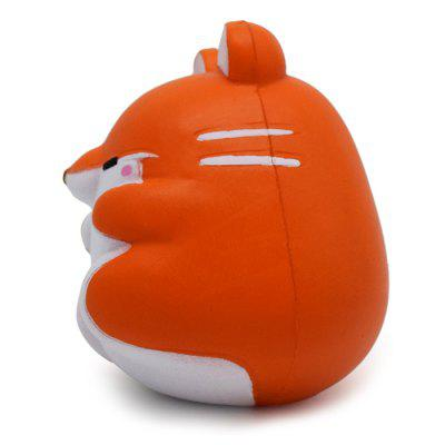 Cute Cartoon Hamster Animal PU Foam Squishy ToySquishy toys<br>Cute Cartoon Hamster Animal PU Foam Squishy Toy<br><br>Color: Orange<br>Materials: PU<br>Package Content: 1 x Squishy Toy<br>Package Dimension: 10.00 x 11.00 x 12.00 cm / 3.94 x 4.33 x 4.72 inches<br>Package Weights: 75g<br>Pattern Type: Animal<br>Product Dimension: 8.00 x 9.00 x 10.50 cm / 3.15 x 3.54 x 4.13 inches<br>Product Weights: 50g<br>Products Type: Squishy Toy<br>Use: Home Decoration, Art &amp; Collectible