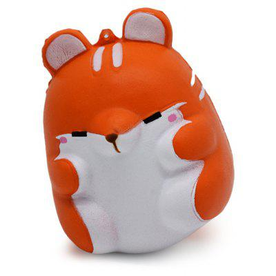 Cute Cartoon Hamster Animal PU Foam Jumbo Squishy Toy