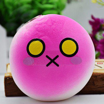 Buy COLORMIX Cute Sad Bun Soft PU Foam Squishy Toy Key Ring for $3.67 in GearBest store