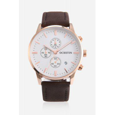 Men Quartz Watch 42mmMens Watches<br>Men Quartz Watch 42mm<br><br>Band material: Genuine Leather<br>Band size: 22 x 2cm<br>Case material: Stainless Steel<br>Clasp type: Pin buckle<br>Dial size: 4.2 x 4.2 x 1cm<br>Display type: Analog<br>Movement type: Quartz watch<br>Package Contents: 1 x Watch, 1 x Box<br>Package size (L x W x H): 16.00 x 8.00 x 5.00 cm / 6.3 x 3.15 x 1.97 inches<br>Package weight: 0.1500 kg<br>Product size (L x W x H): 25.50 x 4.20 x 1.00 cm / 10.04 x 1.65 x 0.39 inches<br>Product weight: 0.0600 kg<br>Shape of the dial: Round<br>Special features: Working sub-dial, Date<br>Watch style: Fashion<br>Watches categories: Men<br>Water resistance: Life water resistant<br>Wearable length: 19 - 23cm