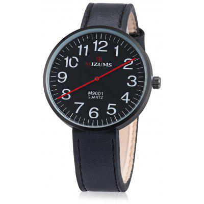 MIZUMS MZ M9001 Men Quartz Watch 42mm