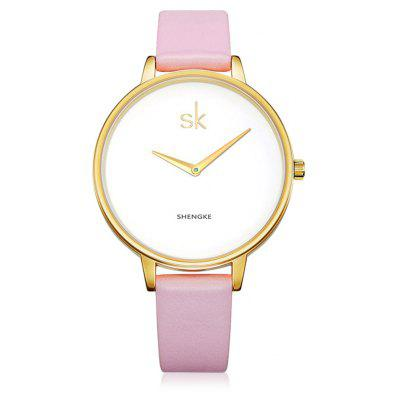 SHENGKE K0046L Fashion Women Watch