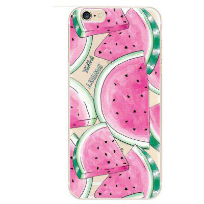 Watermelon Printing TPU Case Protector for iPhone 6 / 6S
