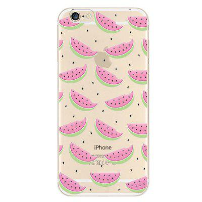 Watermelon Pattern TPU Case Protector for iPhone 6 / 6S