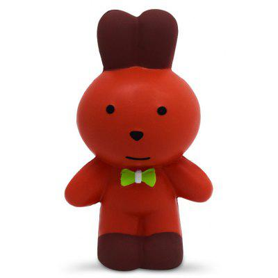 Cute Mr. Rabbit PU Foam Squishy Toy