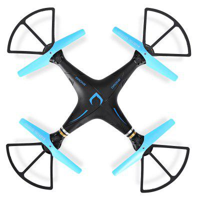DM98 2.4GHz 6-channel RC Quadcopter - RTFRC Quadcopters<br>DM98 2.4GHz 6-channel RC Quadcopter - RTF<br><br>Age: Above 14 years old<br>Battery: 3.7V 600mAh lithium-ion<br>Battery Size: 4.6 x 2.5 x 0.8cm<br>Battery Weight: 18g<br>Built-in Gyro: 6 Axis Gyro<br>Camera Pixels: 0.3MP<br>Channel: 6-Channels<br>Charging Time.: about 40mins<br>Compatible with Additional Gimbal: No<br>Control Distance: 50-100m<br>Detailed Control Distance: 100m<br>Features: Radio Control, WiFi FPV, WiFi APP Control, Camera, Brushed Version<br>Flying Time: 7mins<br>FPV Distance: about 40m<br>Functions: One Key Automatic Return, One Key Landing, Forward/backward, One Key Taking Off, Sideward flight, Turn left/right, With light, Up/down<br>Kit Types: RTF<br>Level: Beginner Level<br>Material: ABS/PS, PP, Electronic Components<br>Model: DM98<br>Model Power: Built-in rechargeable battery<br>Motor Type: Brushed Motor<br>Package Contents: 1 x Quadcopter ( Battery Included ), 1 x Transmitter, 1 x Sling, 1 x Mobile Phone Clamp, 4 x Propeller Guard, 4 x Landing Strut, 4 x Spare Propeller, 1 x USB Cable, 1 x Screwdriver, 1 x Pack of Access<br>Package size (L x W x H): 40.80 x 10.50 x 30.00 cm / 16.06 x 4.13 x 11.81 inches<br>Package weight: 0.7500 kg<br>Product size (L x W x H): 18.50 x 18.50 x 8.00 cm / 7.28 x 7.28 x 3.15 inches<br>Product weight: 0.0950 kg<br>Radio Mode: Mode 2 (Left-hand Throttle)<br>Remote Control: 2.4GHz Wireless Remote Control<br>Sensor: Barometer<br>Size: Medium<br>Transmitter Power: 4 x 1.5V AA battery(not included)<br>Type: Quadcopter, Outdoor