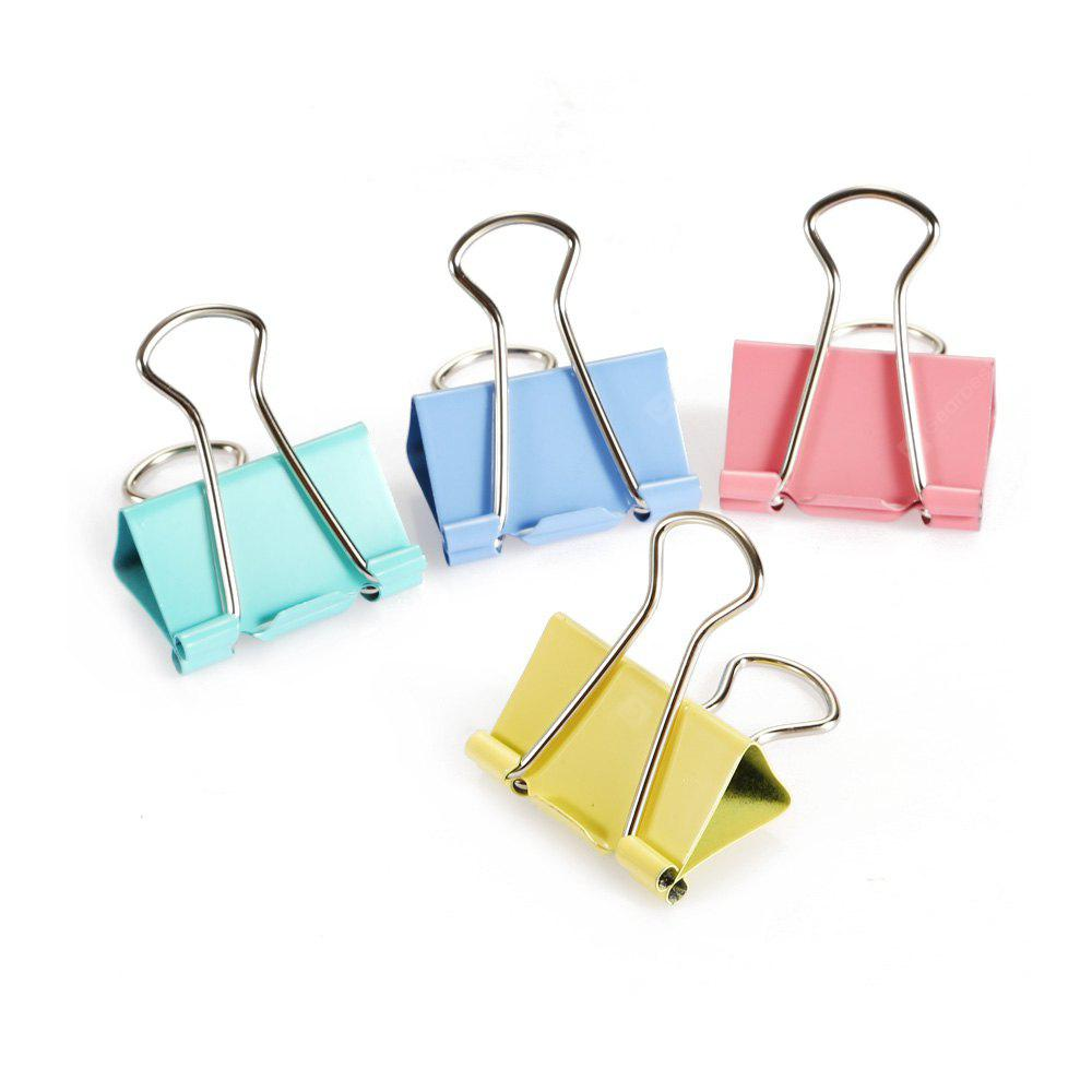 Deli 8553ES 32mm Metal Binder Clips File Organizer 24PCS