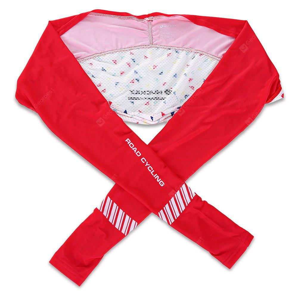 RED L NUCKILY ZH222 Anti-UV Cooling Sports Shawl Oversleeves