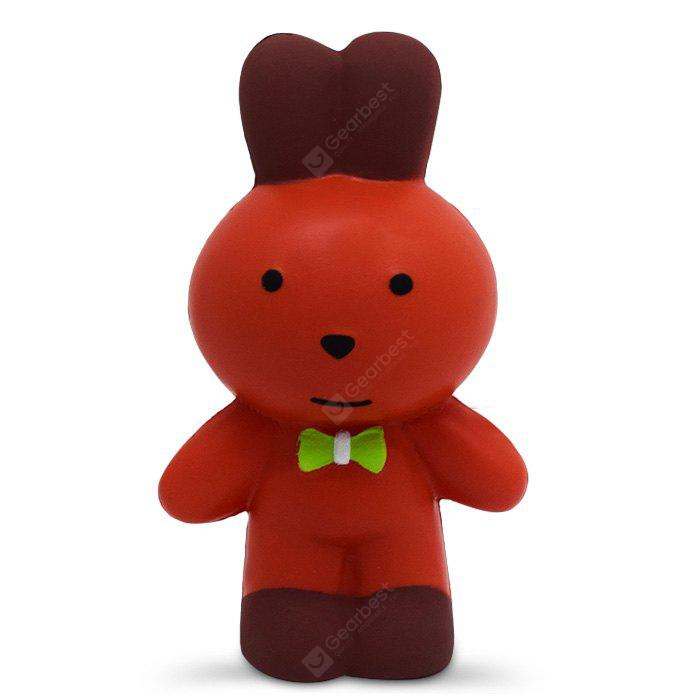 Squishy Foam Toys : Buy Cute Mr. Rabbit PU Foam Squishy Toy ORANGE at GearBest - Chinese Goods Catalog - ChinaPrices.net