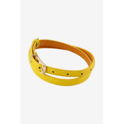 Women Leather Belt with Pin BuckleWomens Belts<br>Women Leather Belt with Pin Buckle<br><br>Belt Length: 104cm<br>Belt Material: PU<br>Belt Width: 1.3cm<br>Gender: For Women<br>Group: Adult<br>Package Contents: 1 x Belt<br>Package weight: 0.0860 kg<br>Style: Fashion