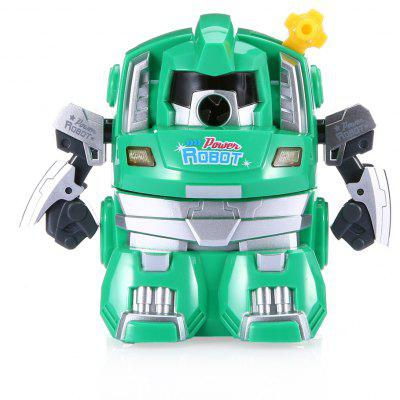 Buy GREEN Deli 0729 Cartoon Robot Pencil Sharpener for $9.41 in GearBest store