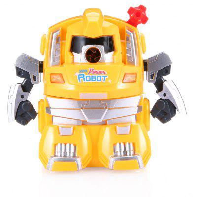Buy YELLOW Deli 0729 Cartoon Robot Pencil Sharpener for $9.41 in GearBest store