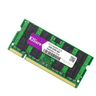 Kllisre PC2 - 6400S - CL6 2GB DDR2 800MHz Memory