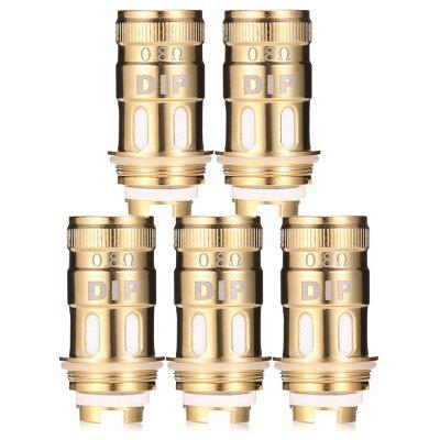 5pcs 0.8 ohm Rebuildable Coil for VapeCige DIP Tank