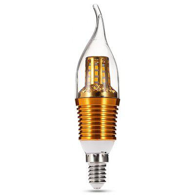 Buy WARM WHITE LIGHT E14 9W 45 LEDs Candle Bulb for $15.60 in GearBest store