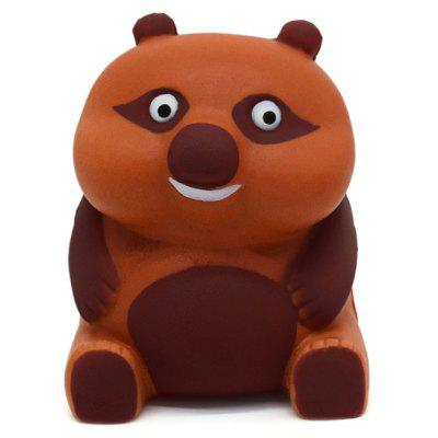 Buy BROWN Cartoon Sitting Bear Soft PU Foam Squishy Toy for $6.36 in GearBest store
