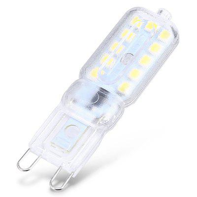 YWXLIGHT 10PCS G9 2835SMD LED Bulb LightLED Bi-pin Lights<br>YWXLIGHT 10PCS G9 2835SMD LED Bulb Light<br><br>Available Light Color: Cool White,Warm White,White<br>Brand: YWXLight<br>Emitter Types: SMD 2835<br>Features: Energy Saving<br>Function: Home Lighting<br>Holder: G9<br>Output Power: 5W<br>Package Contents: 10 x LED Lamp Bulb<br>Package size (L x W x H): 12.00 x 9.00 x 3.00 cm / 4.72 x 3.54 x 1.18 inches<br>Package weight: 0.0760 kg<br>Product size (L x W x H): 5.70 x 1.50 x 1.50 cm / 2.24 x 0.59 x 0.59 inches<br>Product weight: 0.0680 kg<br>Sheathing Material: PC, Aluminum<br>Total Emitters: 22<br>Type: Corn Bulbs<br>Voltage (V): 110V,220V