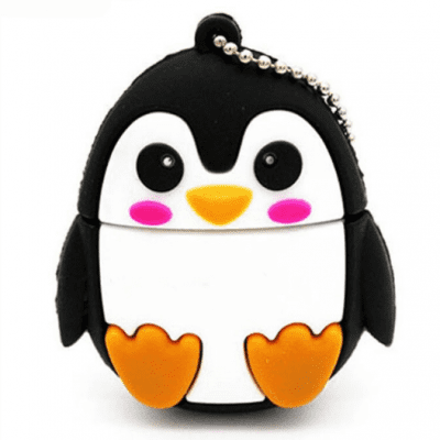 Cute Penguin USB Flash Drive Memory Stick Storage Device