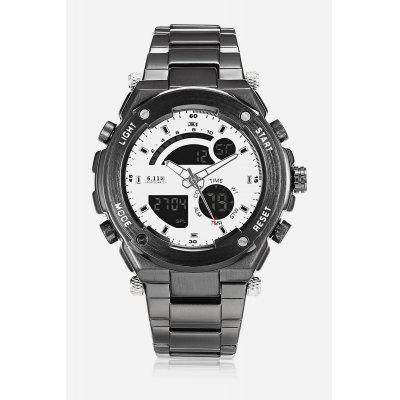 Men 2-movt Watch 46mm