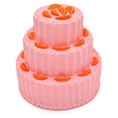 Three-layer Fruit Cake PU Foam Squishy Toy