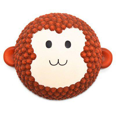 Monkey Cake PU Foam Squishy Toy