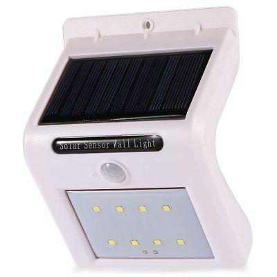 Inteligentne 8 LED Solar Motion Sensor Wall Light