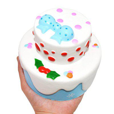Cute Two-layer Bowknot Cake PU Foam Squishy ToySquishy toys<br>Cute Two-layer Bowknot Cake PU Foam Squishy Toy<br><br>Materials: PU<br>Package Content: 1 x Squishy Toy<br>Package Dimension: 13.00 x 13.00 x 12.00 cm / 5.12 x 5.12 x 4.72 inches<br>Package Weights: 150g<br>Pattern Type: Cake<br>Product Dimension: 11.00 x 11.00 x 10.00 cm / 4.33 x 4.33 x 3.94 inches<br>Product Weights: 125g<br>Products Type: Squishy Toy<br>Use: Home Decoration, Art &amp; Collectible