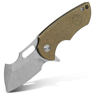 FURA S35VN Steel Blade Portable Frame Lock Folding Knife