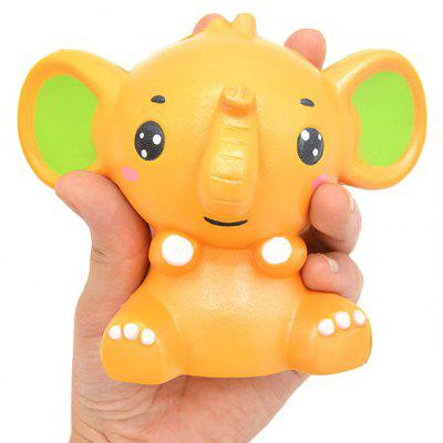 Cartoon Baby Elephant PU Foam Squishy Toy