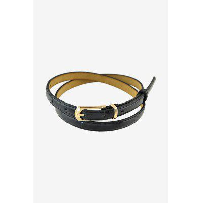Women Leather Belt with Pin Buckle