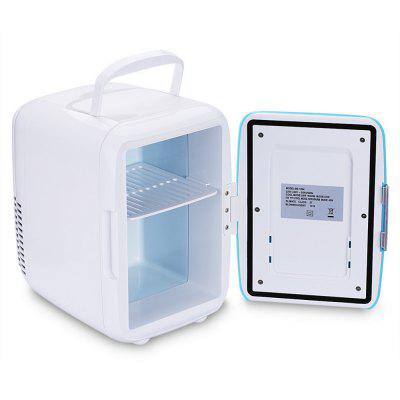 Mini Car Fridge Heating Food Electronic Portable Icebox Freezer