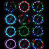 YouOKLight 14 LED Luces para Bicicleta de Rayos Multicolores - NEGRO