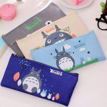 Cartoon High Capacity Storage Stationery Pen Bag