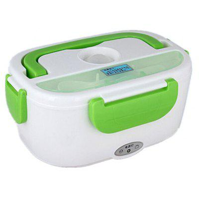 Buy GREEN 12V Car Electronic Heated Food Container for $15.80 in GearBest store