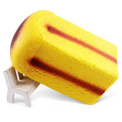 Buy COFFEE AND YELLOW Realistic Loaf Bread Soft PU Foam Squishy Toy for $8.85 in GearBest store