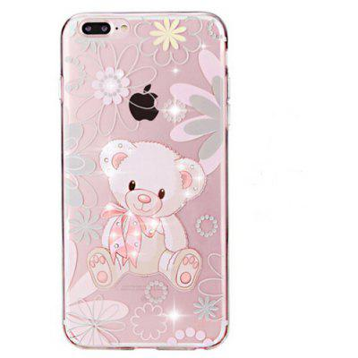 Bear TPU Case for iPhone 7 Plus