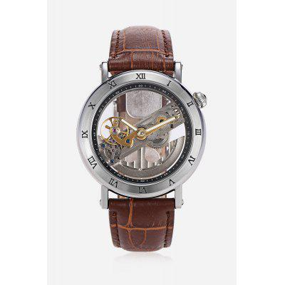 Fashion Men Auto Mechanical Watch 42mmMens Watches<br>Fashion Men Auto Mechanical Watch 42mm<br><br>Band material: Genuine Leather<br>Band size: 25.5 x 2cm<br>Case material: Stainless Steel<br>Clasp type: Pin buckle<br>Dial size: 4.2 x 4.2 x 1.3cm<br>Display type: Analog<br>Movement type: Automatic mechanical watch<br>Package Contents: 1 x Watch<br>Package size (L x W x H): 26.00 x 5.00 x 2.00 cm / 10.24 x 1.97 x 0.79 inches<br>Package weight: 0.0900 kg<br>Product size (L x W x H): 25.50 x 4.20 x 1.30 cm / 10.04 x 1.65 x 0.51 inches<br>Product weight: 0.0610 kg<br>Shape of the dial: Round<br>Special features: Luminous<br>Watch style: Fashion<br>Watches categories: Men<br>Wearable length: 19 - 23.5cm