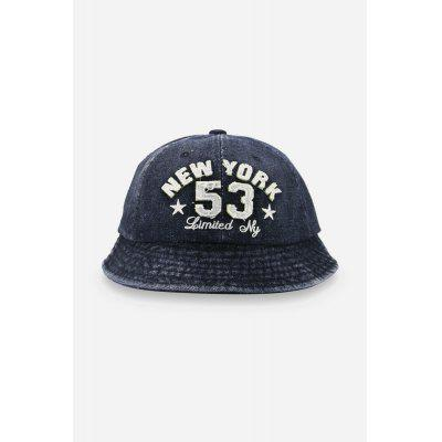 Buy BLACK NEW YORK Sun Protection Cotton Bucket Hat for $8.37 in GearBest store