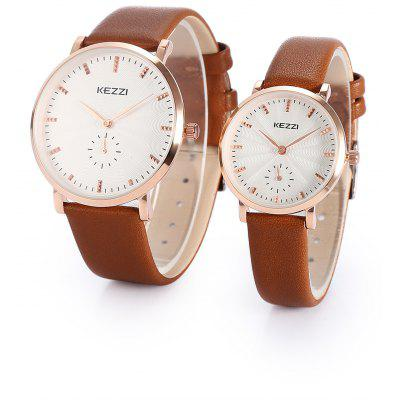KEZZI K - 1682 Couples Quartz Watch