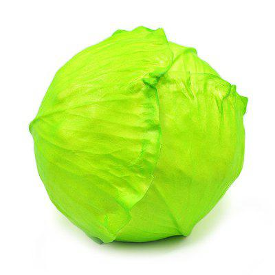 13cm Cabbage Vegetable PU Foam Squishy ToySquishy toys<br>13cm Cabbage Vegetable PU Foam Squishy Toy<br><br>Color: Green<br>Materials: PU<br>Package Content: 1 x Squishy Toy<br>Package Dimension: 15.00 x 12.00 x 12.00 cm / 5.91 x 4.72 x 4.72 inches<br>Package Weights: 195g<br>Pattern Type: Vegetable<br>Product Dimension: 13.00 x 13.00 x 10.00 cm / 5.12 x 5.12 x 3.94 inches<br>Product Weights: 170g<br>Products Type: Squishy Toy<br>Use: Home Decoration