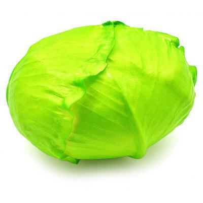 13cm Cabbage Vegetable PU Foam Jumbo Squishy Toy