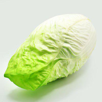 Realistic Napa Cabbage Soft PU Foam Squishy ToySquishy toys<br>Realistic Napa Cabbage Soft PU Foam Squishy Toy<br><br>Color: Green<br>Materials: PU<br>Package Content: 1 x Squishy Toy<br>Package Dimension: 27.00 x 14.00 x 14.00 cm / 10.63 x 5.51 x 5.51 inches<br>Package Weights: 240g<br>Pattern Type: Vegetable<br>Product Dimension: 25.00 x 12.00 x 12.00 cm / 9.84 x 4.72 x 4.72 inches<br>Product Weights: 200g<br>Products Type: Squishy Toy<br>Use: Home Decoration