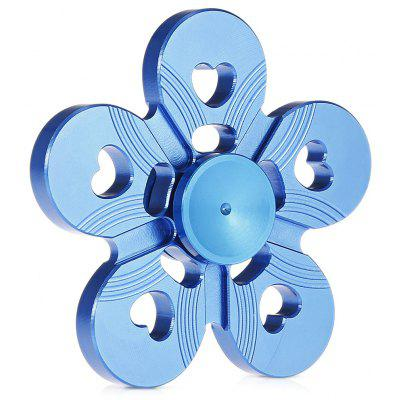 Five-petal Plum Flower Zinc Alloy Fidget Spinner