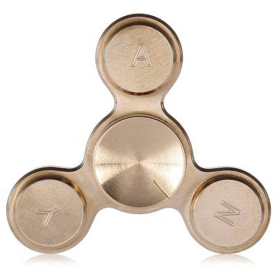 Micro Tri-blade Decision-making Copper Fidget Spinner