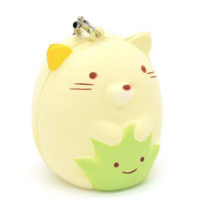 7cm Cute Cartoon Cat Soft PU Foam Squishy ToySquishy toys<br>7cm Cute Cartoon Cat Soft PU Foam Squishy Toy<br><br>Materials: PU<br>Package Content: 1 x Squishy Toy<br>Package Dimension: 9.00 x 7.00 x 7.00 cm / 3.54 x 2.76 x 2.76 inches<br>Package Weights: 45g<br>Pattern Type: Animal<br>Product Dimension: 7.00 x 5.00 x 5.00 cm / 2.76 x 1.97 x 1.97 inches<br>Product Weights: 20g<br>Products Type: Squishy Toy<br>Use: Home Decoration, Art &amp; Collectible